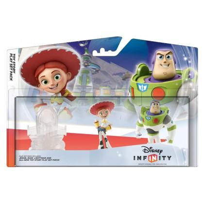 Disney Infinity Набор История игрушек (Toy Story) - 2 фигурки и портал локации
