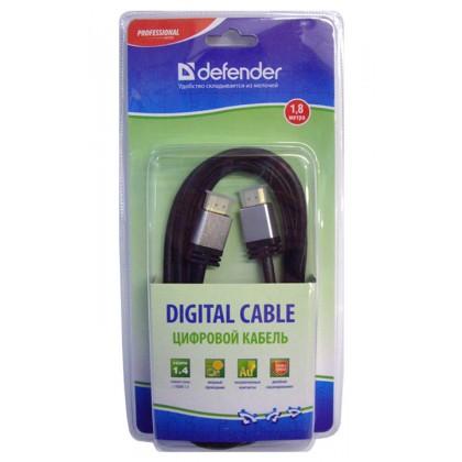 Defender Кабель HDMI-06PRO (ver.1.4) HDMI (M) - HDMI (M) 1.8 метра