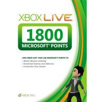 Карта оплаты Xbox Live на 1800 очков Microsoft Points