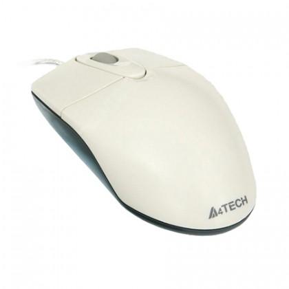 A4TECH Мышь OP-720 оптика белая, USB