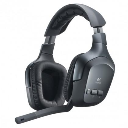 Logitech Гарнитура игровая беспроводная Wireless Headset F540