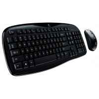 Logitech Набор беспроводной Wireless Desktop MK250 OEM