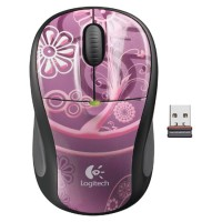 Logitech Мышь M305 Wireless Mouse Plum Current USB