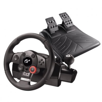 Руль Logitech Driving Force GT для PC, Sony PlayStation2/3