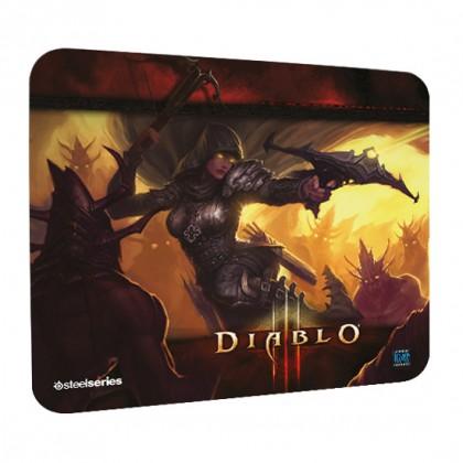 Коврик SteelSeries QcK Diablo 3 Demon Hunter