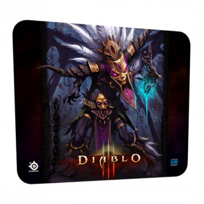 Коврик SteelSeries QcK Diablo 3 Witch Doctor