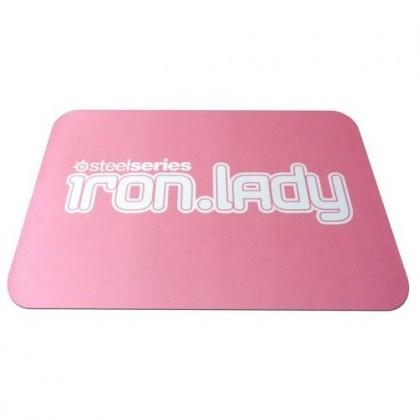 Коврик SteelSeries QcK IRON LADY mini, розовый