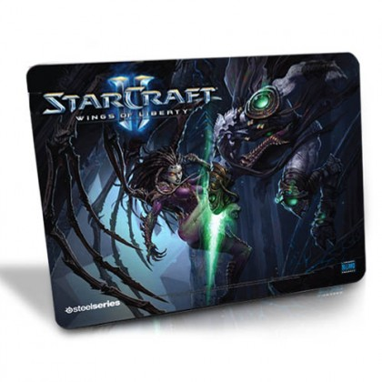 Коврик SteelSeries QcK Starcraft 2 - Kerrigan vs Zeratul