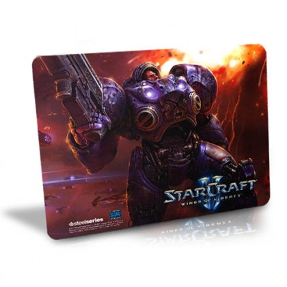 Коврик SteelSeries QcK Starcraft 2 - Tychus Findlay