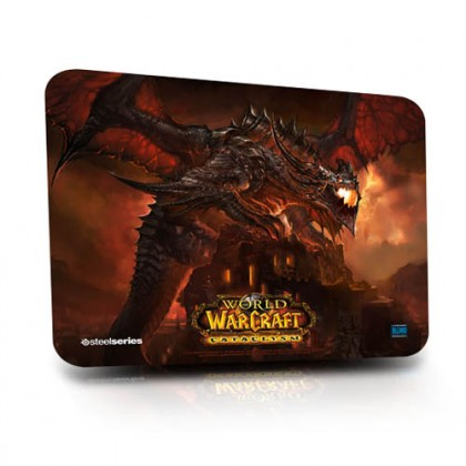 Коврик SteelSeries QcK WofW - Cataclysm Deathwing