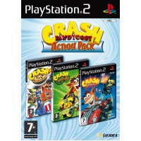 Crash Bandicoot Action Pack (PS2)