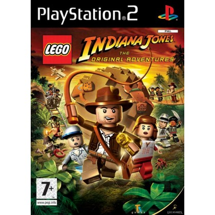 Lego Indiana Jones: Original Adventures (PS2)
