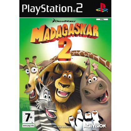 Мадагаскар 2 (PS2) Русская версия