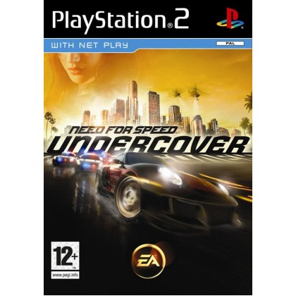 Need for Speed: Undercover (PS2) Русская версия