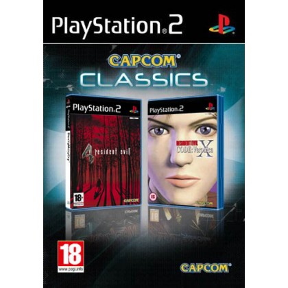 Комплект Resident Evil: Code Veronica  + RE4 (PS2)