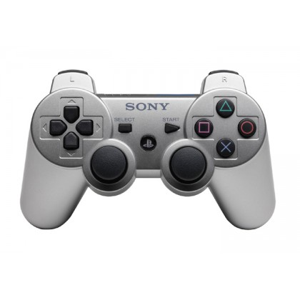 Геймпад Dualshock 3 Wireless Controller для PS3 (серебро)