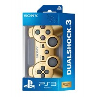 Геймпад Dualshock 3 Wireless Controller для PS3 (золото)
