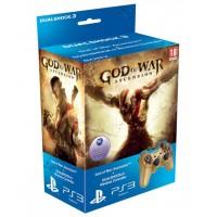 Комплект God of War Восхождение (PS3) + Dualshock 3