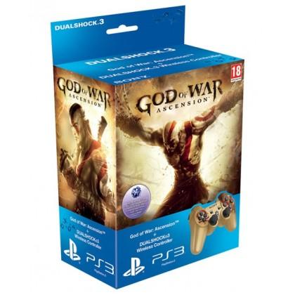 Комплект игра God of War Восхождение (PS3) + геймпад Dualshock GOW