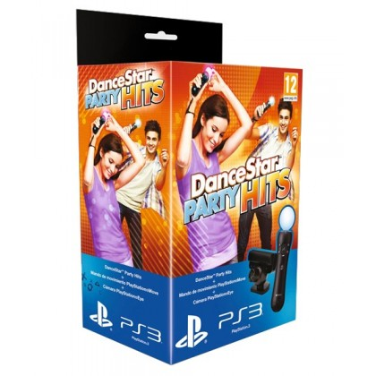 PS Move Starter Pack + игра DanceStar Party Hits (PS3)