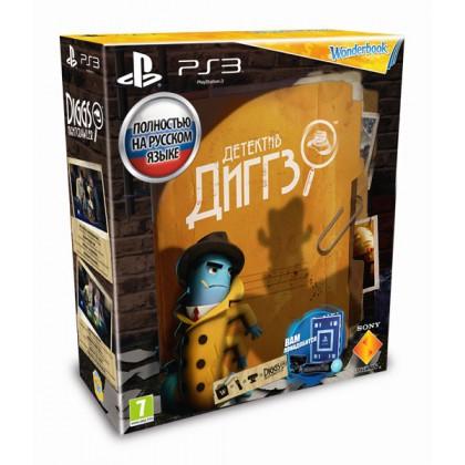PS Move Starter Pack + игра Детектив Диггз (PS3) + Wonderbook