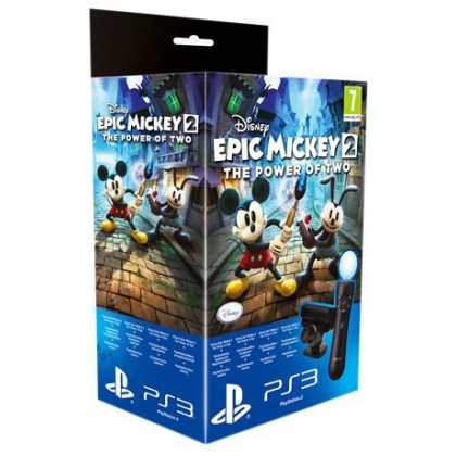 PS Move Starter Pack + игра Epic Mickey: Две Легенды (PS3)