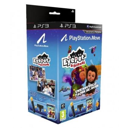 PS Move Starter Pack + игра EyePet и Друзья (PS3)