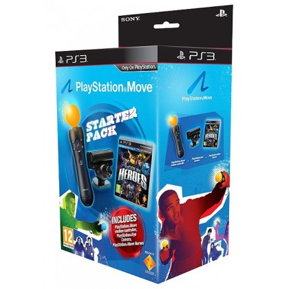 PS Move Starter Pack + игра Герои PlayStation Move (PS3)