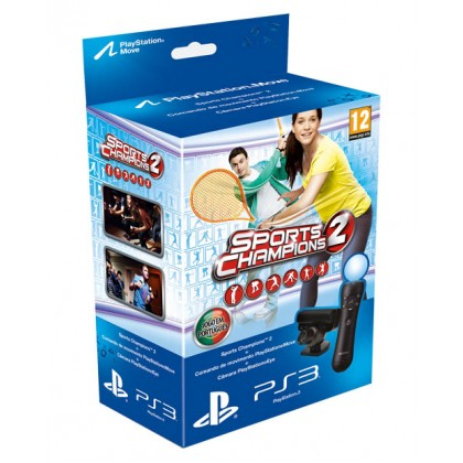 PS Move Starter Pack + игра Праздник Спорта 2 (PS3)