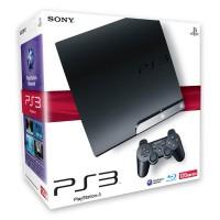 Игровая приставка Sony PS3 Slim (120 Gb) Black