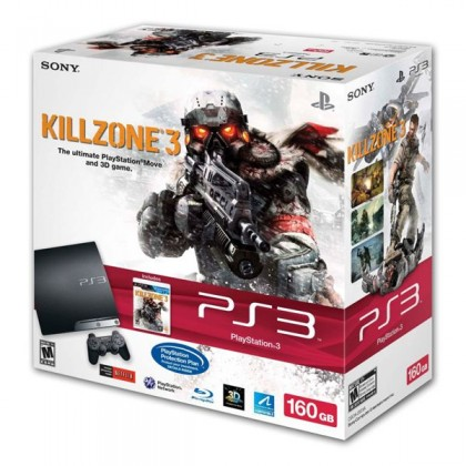 Игровая приставка Sony PlayStation 3 Slim (160 Gb) + Killzone 3