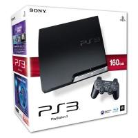 Игровая приставка Sony PS3 Slim (160 Gb) Black