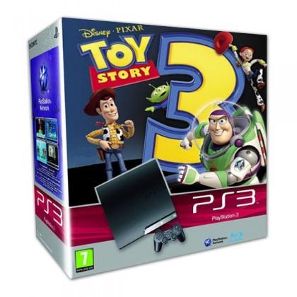 Игровая приставка Sony PS3 Slim (250 Gb) + Toy Story 3