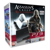 Игровая приставка Sony PS3 Slim (320 Gb) + Assassins Creed Re...