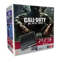 Игровая приставка Sony PS3 Slim (320 Gb) + Call of Duty Black Ops
