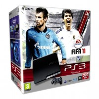 Игровая приставка Sony PS3 Slim (320 Gb) + FIFA 11