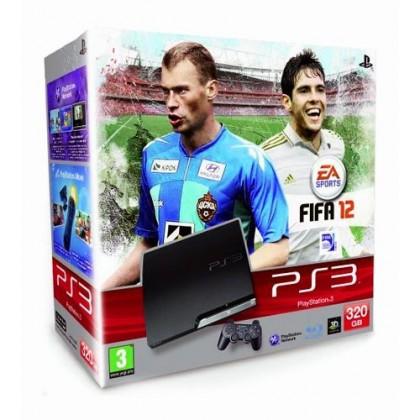 Игровая приставка Sony PS3 Slim (320 Gb) + FIFA 12