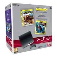 Игровая приставка Sony PS3 Slim (320 Gb) MotorStorm Uncharted 2