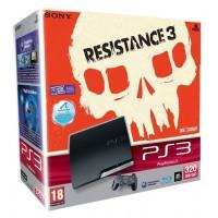 Игровая приставка Sony PS3 Slim (320 Gb) + Resistance 3
