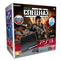 Игровая приставка Sony PS3 Slim (320 Gb) + SOCOM: Спецназ