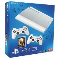 Игровая приставка Sony PS3 Super Slim (12 Gb) White + Одни
