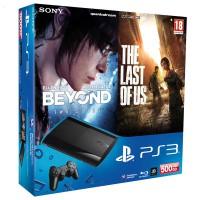 Игровая приставка Sony PS3 Super Slim (500 Gb) + За гранью