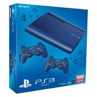 Игровая приставка Sony PS3 Super Slim (500 Gb) Blue