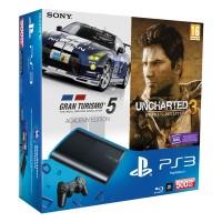 Игровая приставка Sony PS3 Super Slim (500 Gb) + Gran..