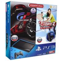 Игровая приставка Sony PS3 Super Slim (500 Gb) + Праздник