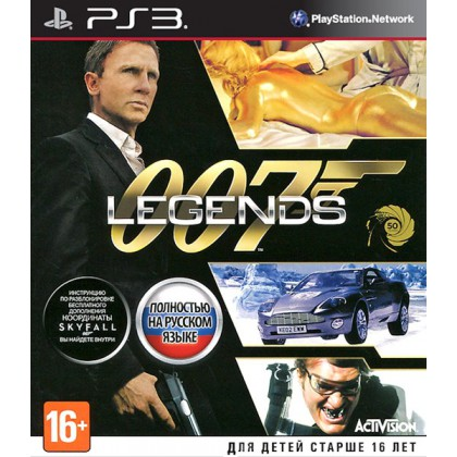 007 Legends (PS3) Русская версия
