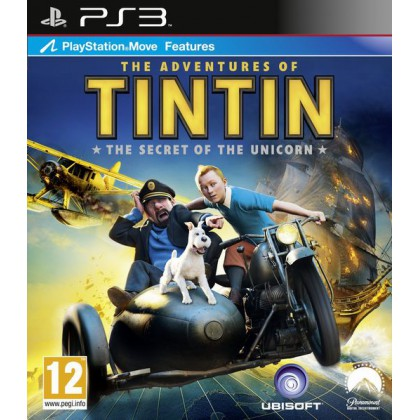 Приключения Тинтина: Тайна Единорога (PS3) Русская версия
