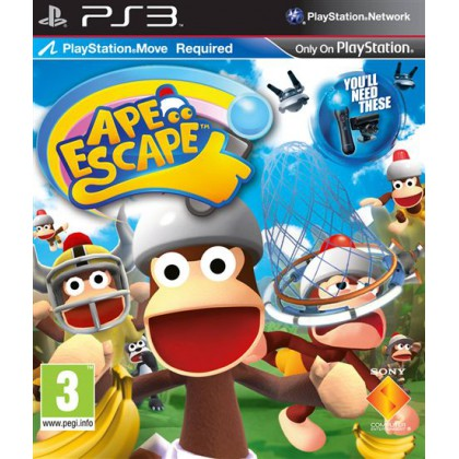Ape Escape (PS3) Русская версия