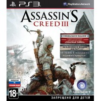 Assassins Creed 3 Special Edition (PS3) Русская версия
