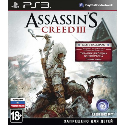 Assassins Creed 3 Exclusive Edition (PS3) Русская версия